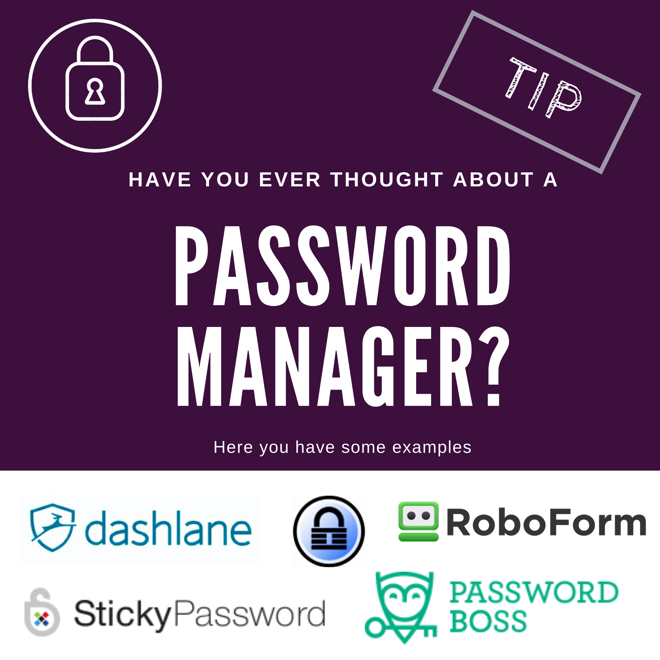 Password Manager Tip
